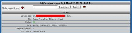 Online malware scan, escaneando online nuestros archivos sospechosos a través de 20 antivirus