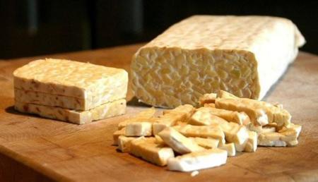Tempeh, una buena forma de sumar calcio a dietas vegetarianas