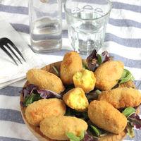 Croquetas de pollo al curry, deliciosa receta de aprovechamiento