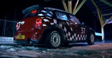 Kris Meeke y el Mini Countryman WRC en Top Gear