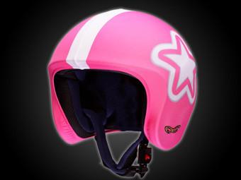 helmetdress pink star