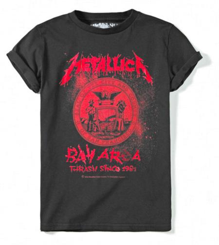 Metallica Zara camiseta Niño