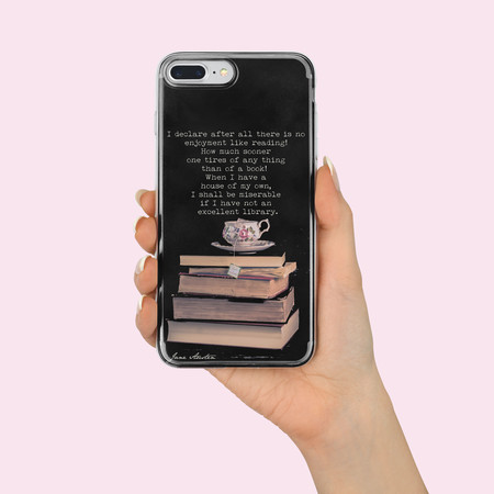 Funda Iphone Motivo Literato 03