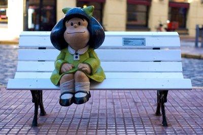 Mafalda ha cumplido 47 años pero sigue teniendo 4