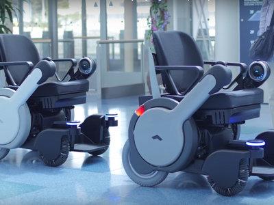 Esta silla de ruedas de Panasonic es autónoma, eléctrica y está lista para trabajar en el aeropuerto de Tokio