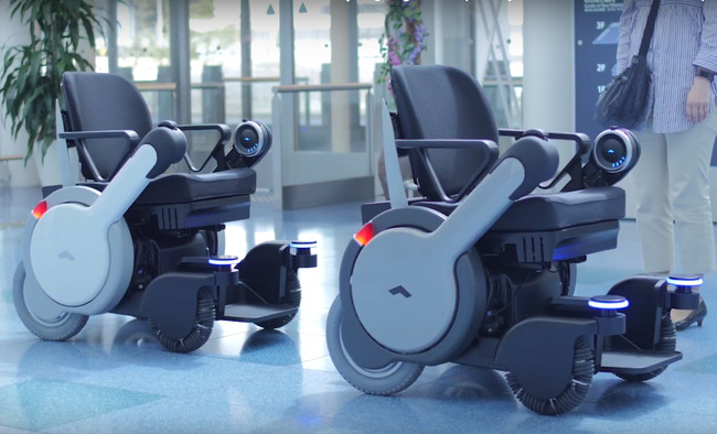 Panasonic Self Driving Wheelchair