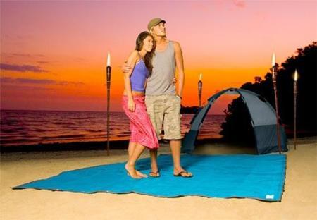 CGear, alfombra para acampar que no deja pasar arena y polvo