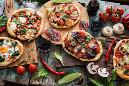 31 recetas de pizza: una pizza para cada día del mes