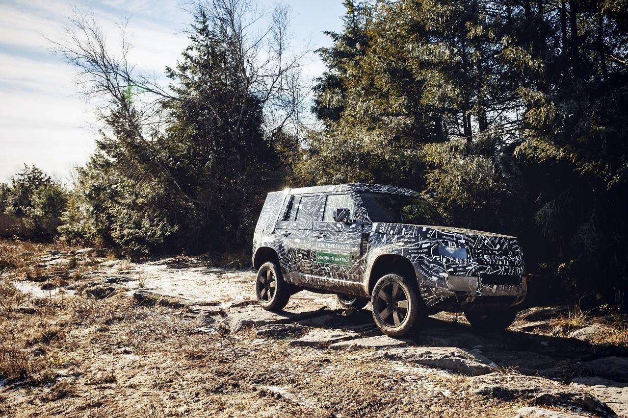 Foto de Land Rover Defender 2020 primeras fotos oficiales (18/24)