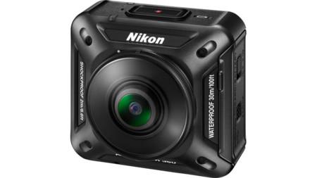 Nikon se abre camino entre las cámaras de acción: Keymission 360