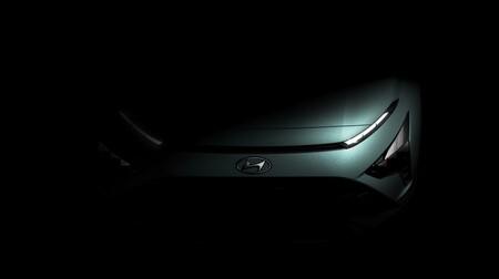 Hyundai Bayon Teaser 1