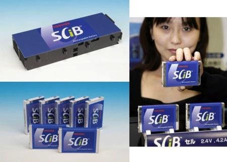 Baterías de Toshiba que se cargan en 10 minutos