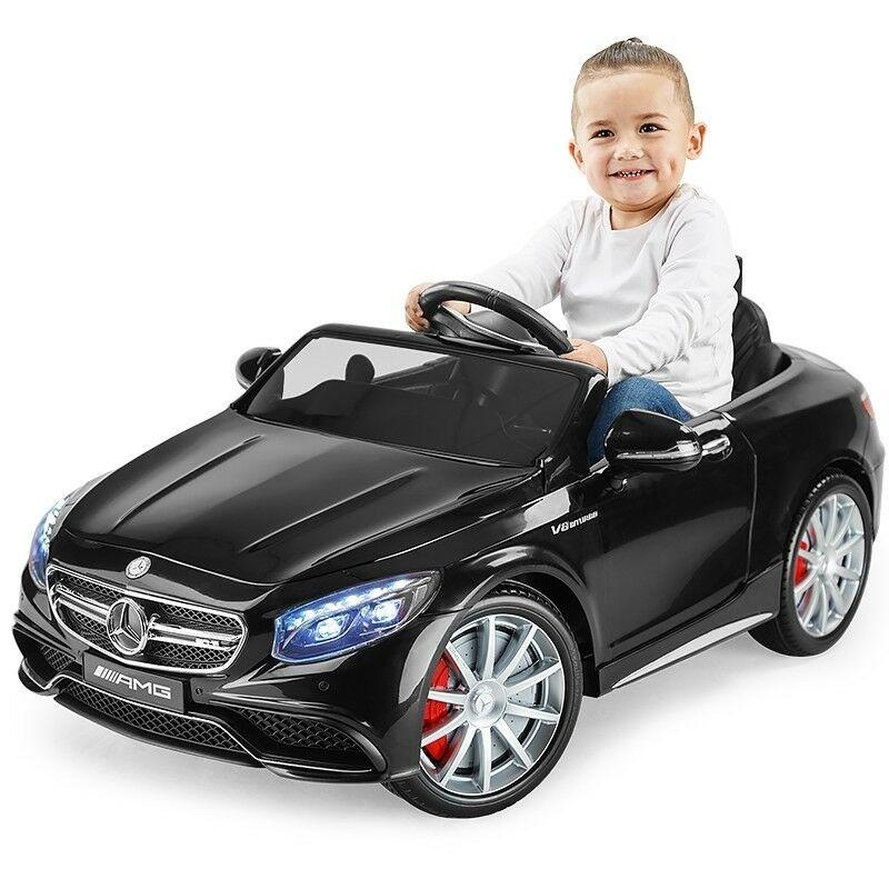 En eBay tenemos este Mercedes Eléctrico para niñoz por 195,49 euros y envío gratis