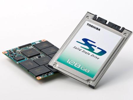 Toshiba prepara una memoria SSD de 128 GB
