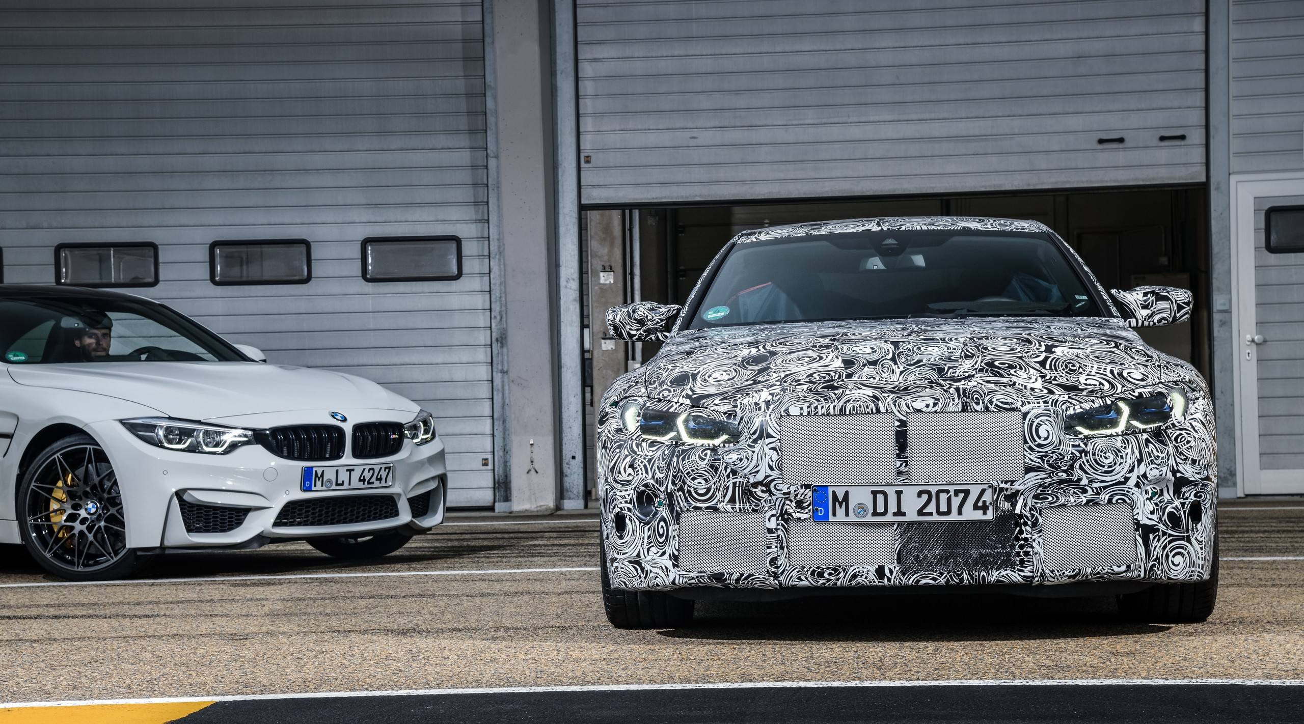 Foto de BMW M3 sedán y M4 coupé (7/7)