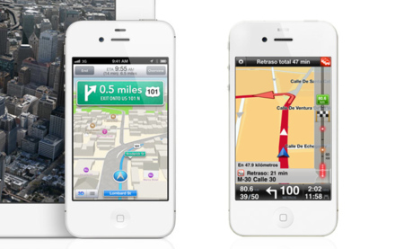 iOS 6, aplicación Mapas VS Tom Tom para iOS