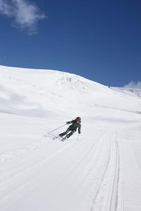 Oysho Gymwear Ski Editorial 16