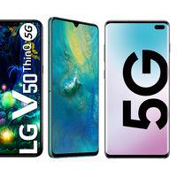 Todos los móviles Android con 5G que se pueden comprar actualmente