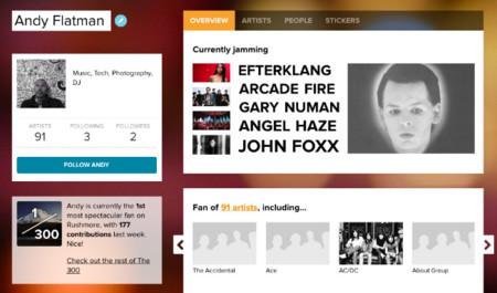 Rushmore, un canal para conectar a los artistas directamente con sus fans mediante retransmisiones en directo