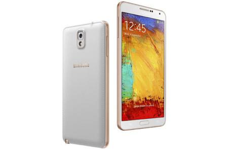 """Samsung presenta un modelo en """"rosa dorado"""" del Galaxy Note 3"""