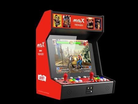 """Neo Geo MVSX: la nueva """"maquinita"""" de SNK con The King of Fighters, Metal Slug y 50 juegos clásicos llegará a México y Norteamérica"""