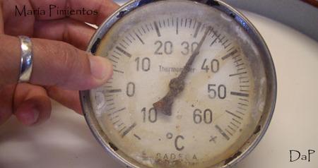 Ponemos a la temperatura adecuada
