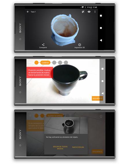 Sony Xperia Xz1, 3d